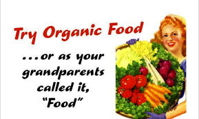 Before the Second World War, most food produced was crop rotated and organic...