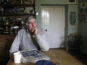 My wonderful mad and eccentric dad...at The Common Farm...