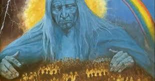 Red Indian God