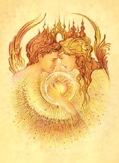 Twin soul energy