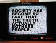 Fake v Truth banner